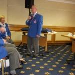 Michael Jennings at Bowls England AGM